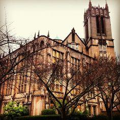 Amazing view of campus!