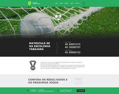 Desenvolvimento de Layout, Html e Css para Tabajara Futebol Clube - Projeto Beneficiente