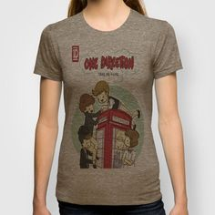 Take Me Home Cartoon One Direction T-shirt by xjen94 | Society6