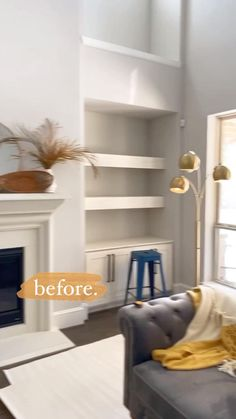 DIY Wallpaper Built Ins: how to install wallpaper