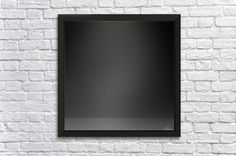 Black Gradient Background Wall Decor Frame Canvas Artwork, Canvas Prints, Frame Wall Decor, Gradient Background, Amazing Places, The Good Place, Flat Screen, Black, Design