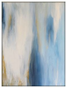 Abstract Original Painting on Canvas Contemporary/Modern Painting - 30x40 - Blue modern-originals-and-limited-editions