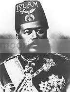 Last King of Hawaii King Kalukaua. A Moor and Mason wearing the Moorish fez.
