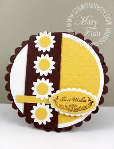 MOJO141 Round by Petal Pusher - Cards and Paper Crafts at Splitcoaststampers