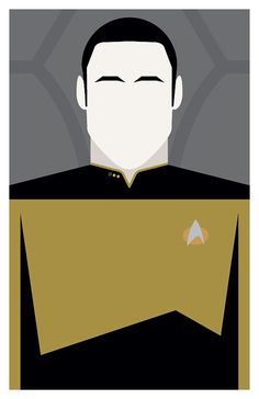 Star Trek: The Next Generation - Lieutenant Commander Data - Poster or 11 x Star Trek Wallpaper, Deep Space 9, Lt Commander, The Final Frontier, Film Studio, Uss Enterprise, Chalk Art, Minimalist Art, The Next