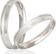 Λευκόχρυσες Βέρες Γάμου S17 Stergiadis