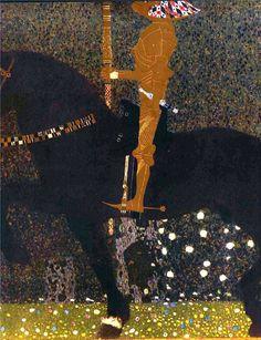 Густав Климт «Золотой рыцарь»