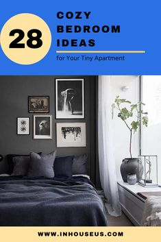 28+ Cozy Bedroom Ideas for Your Tiny Apartment #bedroom #bedroomtinyapartment Beautiful Mattress, Apartment, Comfortable Bedroom, Girls Bedroom, Tiny Apartment, Cozy Bedroom, Bedroom Decor, Bedroom Diy, Bedroom