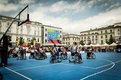 9. Ogólnopolskie Dni Integracji Zwyciężać Mimo Wszystko, sportowe emocje #koszykówka #sport #Kraków fot. Diamonds Factory