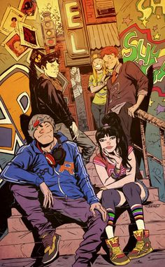 Never read much Archie growing up but this variant cover by Sanford Greene makes me want to start!