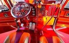 Big Rig Truck Interiors | 10 Best Custom Big Rig Interiors - The Hog Ring | Auto Upholstery ...