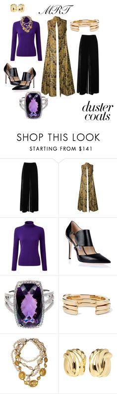 """""""Duster"""" by meesh57 ❤ liked on Polyvore featuring M Missoni, Guy Laroche, Pure Collection, Jimmy Choo, Lisa Eisner and Tiffany & Co."""