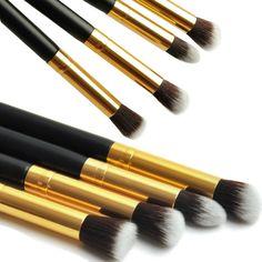 Pencil ferramenta pincel maquiagem cosméticos Preto