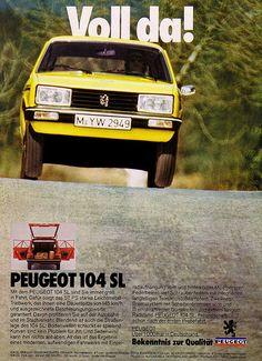 Peugeot 104 - adv (1977)