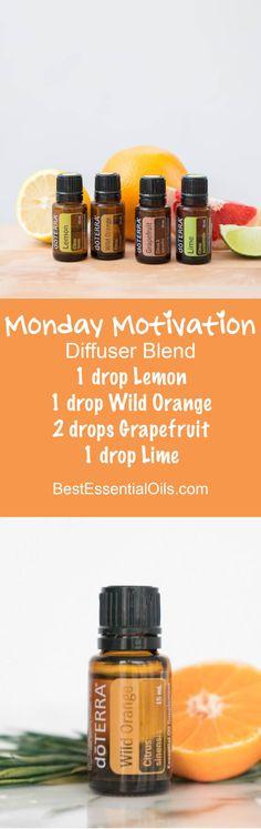 Monday Motivation doTERRA Diffuser Blend