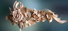 Architectural Wood Carving With Roses | Authentic Custom Cabinetry | Authentic Custom Cabinetry | Woodworking