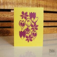 Crocus Pocus by Carrie on Etsy