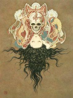 fatj2112:  TAKATO YAMAMOTO #Skull