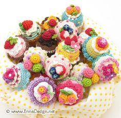 free ice cream cone crochet pattern - Google Search