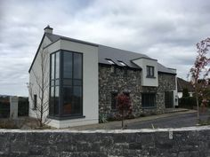Out and about today, in different area & saw a couple of nice projects Architecture 101, Japanese Architecture, Passive House Design, Stair Well, Attic Loft, Pole Barn Homes, Architect House, House Extensions, Stone Houses