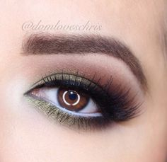 Love how these colors can bring out the Orange in Brown eyes.