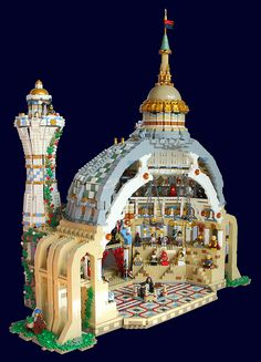 Lego Petraea University - Grand lecture theatre and debating hall (LHS