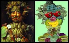 Giuseppe Arcimboldo was an Italian painter best known for creating many pictures building faces from fruit and vegetables and sometimes crea. Giuseppe Arcimboldo, English Fun, Italian Painters, Ipad Art, 4 Kids, Art Plastique, Projects For Kids, Art Education, Great Artists
