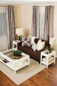 Výsledek obrázku pro dark brown sofa living room