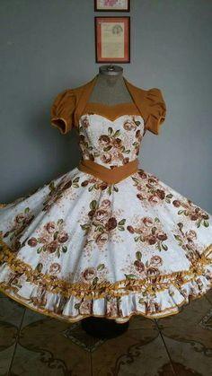 Resultado de imagen para vestidos de huasa modernos