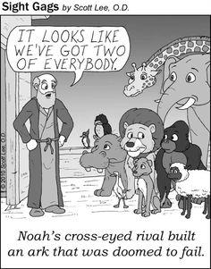 Noah's cross-eyed rival