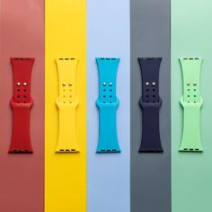 So many beautiful colors 🌈 to choose from. Which one is your favorite? 🤔 We have a large variety of silicone watch band colors for you to make it you. Shop via Link in Bio Orange Grey, Leather Watch Bands, Stainless Steel Watch, Watch Brands, Apple Watch Bands, Neon Green, Cool Watches, Link, Colors