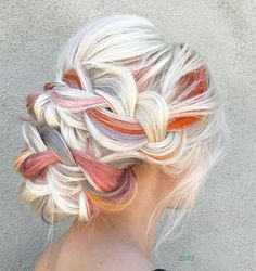 """21.4k Likes, 266 Comments - behindthechair.com (@behindthechair_com) on Instagram: """"* Peaches n Creme ... by @theconfessionsofahairstylist using #brazilianbondbuilder /// CHECK OUT…"""""""
