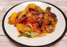 Κοτόπουλο με λαχανικά στο φούρνο   Συνταγές - Sintayes.gr