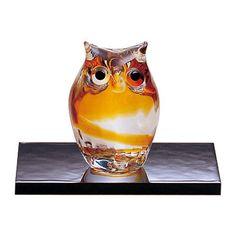 Tsugaru Vidro Child Owl Ornament