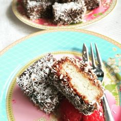 Dairy and Eggfree Lamingtons - Fun With Allergy KidsFun With Allergy Kids