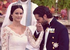 Sofia Hellqvist e il principe Carl Philip di Svezia