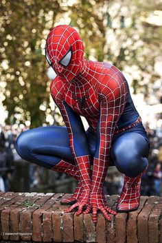 Peter Parker (AKA Spiderman)   Lucca Comics 2012