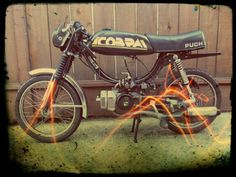 1982 Puch Cobra. Just saw it on Craigslist reported as stolen, such a bummer; such a sweet bike.