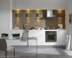 15x BIAŁA KUCHNIA: jak urządzić kuchnię w bieli, aby nie była nudna ZDJĘCIA - aranżacje - -Urzadzamy.pl