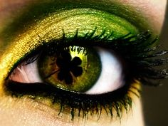 St. Patty's Day! #eyes #makeup #optometry