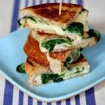 Grilled Cheese with Turkey and Arugula - Skinny Chef