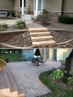 Hire the professionals of Element Landscaping and Stonework for quality stump grinding, landscape designing and snow plowing services. They also install swimming pools.