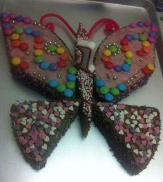 Schmetterlings Kuchen