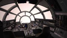 millenium falcon interior images - Google Search
