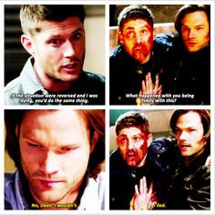 Oh Sammy. From the way I see it, in telling Dean he wouldn't do the same for him, he hoped that if he was dying again, Dean wouldn't get hurt trying to save him.
