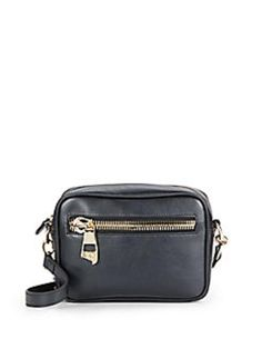 Versace Collection Leather Logo-zip Black Cross Body Bag. Get the trendiest Cross Body Bag of the season! The Versace Collection Leather Logo-zip Black Cross Body Bag is a top 10 member favorite on Tradesy. Save on yours before they are sold out!