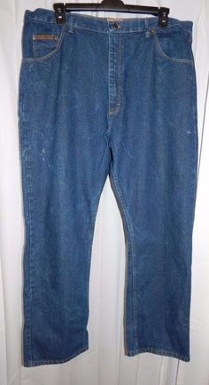 C. E. SCHMIDT 42x32 Workwear Denim Blue Jean Pants Men's Sturdy  #CESCHMIDT #ClassicStraightLeg