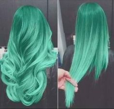 Colored hair. do this