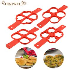 New Product Fantastic Fast & Easy Way to Make Perfect Pancakes Silicone egg pancake mold ring Kitchen Tool