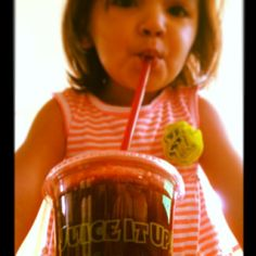 Juicing for Kids. Juice It Up! Raw Juice Bar blends up the Rejuvenator with #beets #apple #carrot #cucumber #ginger a Sweet healthy Juice Kids will Love